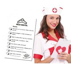Bloc de Notas Enfermera