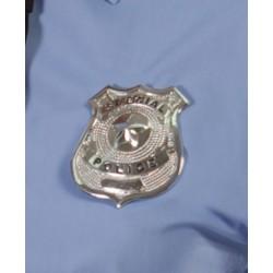 Placa Policía Metal