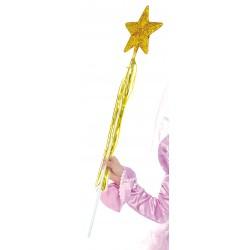 Varita Hada Oro 53 cm.