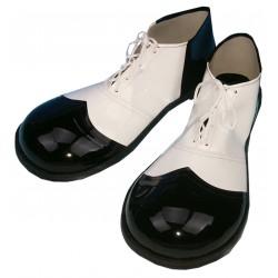 Zapatos Hombre Blanco/Negro