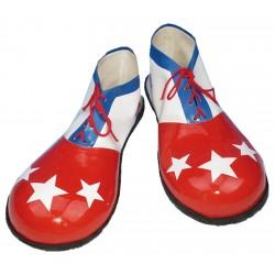 Zapatos Hombre Estrellas Blancas