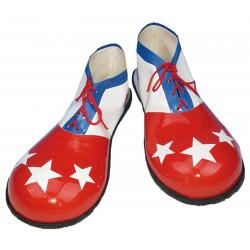 Zapatos Mujer Estrellas Blancas