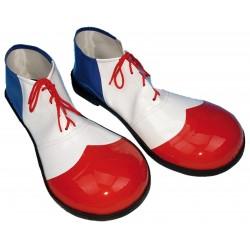 Zapatos Hombre Blanco/Rojo