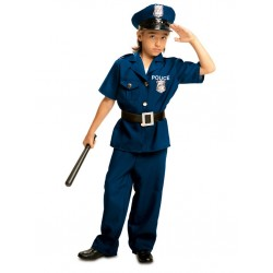 DISFRAZ DE POLICIA NIÑO