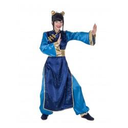 Disfraz China Azul
