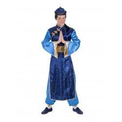 Disfraz Chino Azul