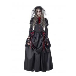 Disfraz Novia Negra