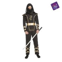 Disfraz de Black Ninja Adulto