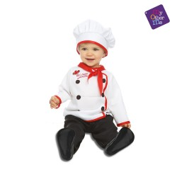 Disfraz de Baby Chef 7-12 meses
