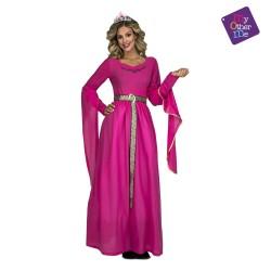 Disfraz de Princesa Medieval Rosa T-M/L