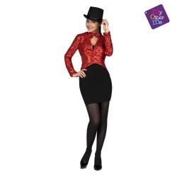 Chaqué Show Woman Negro T-M/L