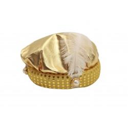 Sombrero De Paje Dorado
