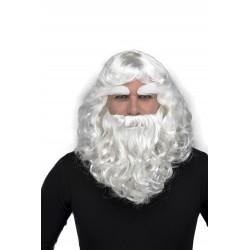 Peluca Papa Noel con Barba...
