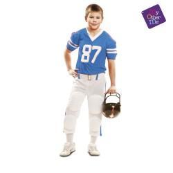 DISFRAZ DE Jugador Rugby Azul