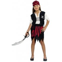 Pirata Rojo y Negro