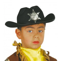 Sombrero Sherif Negro