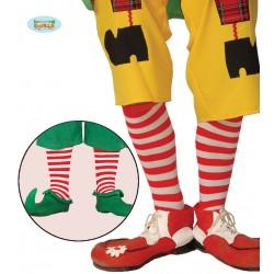 Par de calcetines con rayas