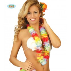 Collar Hawaiano multicolor