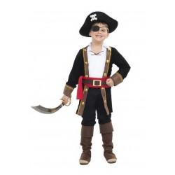 Disfraz de Pirata Casaca Negra