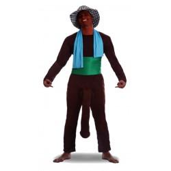 Disfraz El Negro del Whatsaap