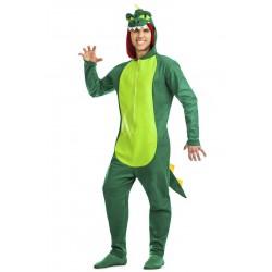 Disfraz de Dinosaurio Verde
