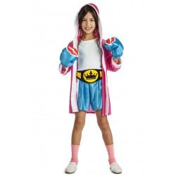 Disfraz de Boxeadora Niña
