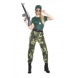 Disfraz de Paramilitar Mujer