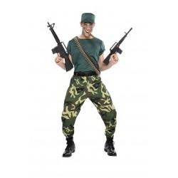 Disfraz Paramilitar Hombre