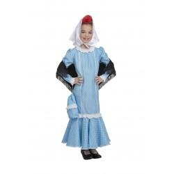 Disfraz de Madrileña Azul