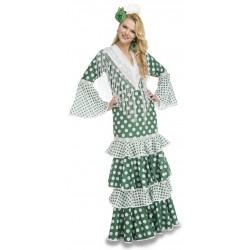 Disfraz de Flamenca Feria Verde