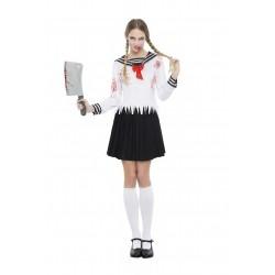 Disfraz de Colegiala Japo Zombie