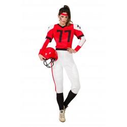 Disfraz de Jugadora de Rugby