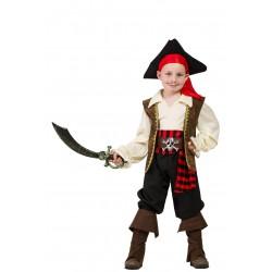Disfraz de Capitán Pirata Niño