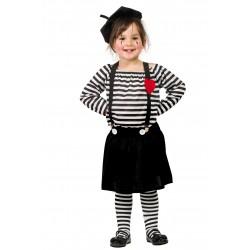 Disfraz de Mimo Niña
