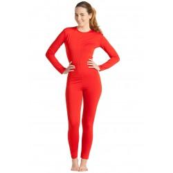 Mono/Maillot Rojo Spandex Mujer