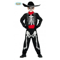 Disfraz de Mariachi Skeleton