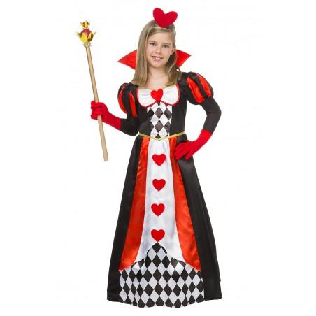 Disfraz Reina de Corazones Infantil