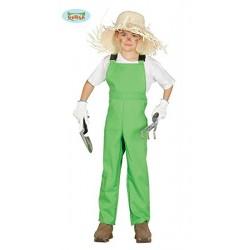 Disfraz de Mono Trabajo Verde