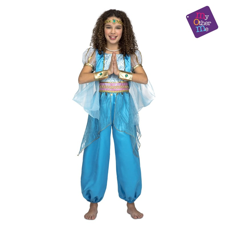 Disfraz de Princesa Arabe Turquesa