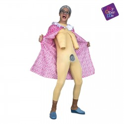 Disfraz de Anciana Abuela Exhibicionista