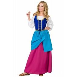 Disfraz de Mesonera Medieval Adulta