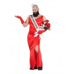Disfraz de Miss Universo Hombre