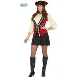 Pirata Terciopelo Mujer