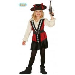 Pirata Niña Terciopelo