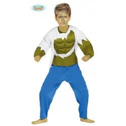 Disfraz de Forzudo Verde Hulk