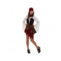 Disfraz de Pirata Mujer Talla S