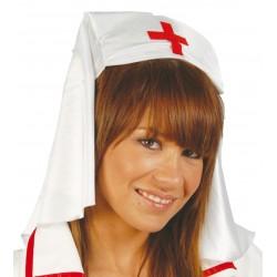 Tocado Enfermera Tela