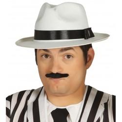Sombrero Ganster Adulto Blanco