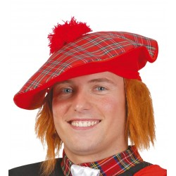 Sombrero Escocés con Pelo
