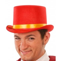 Chistera Fieltro Roja